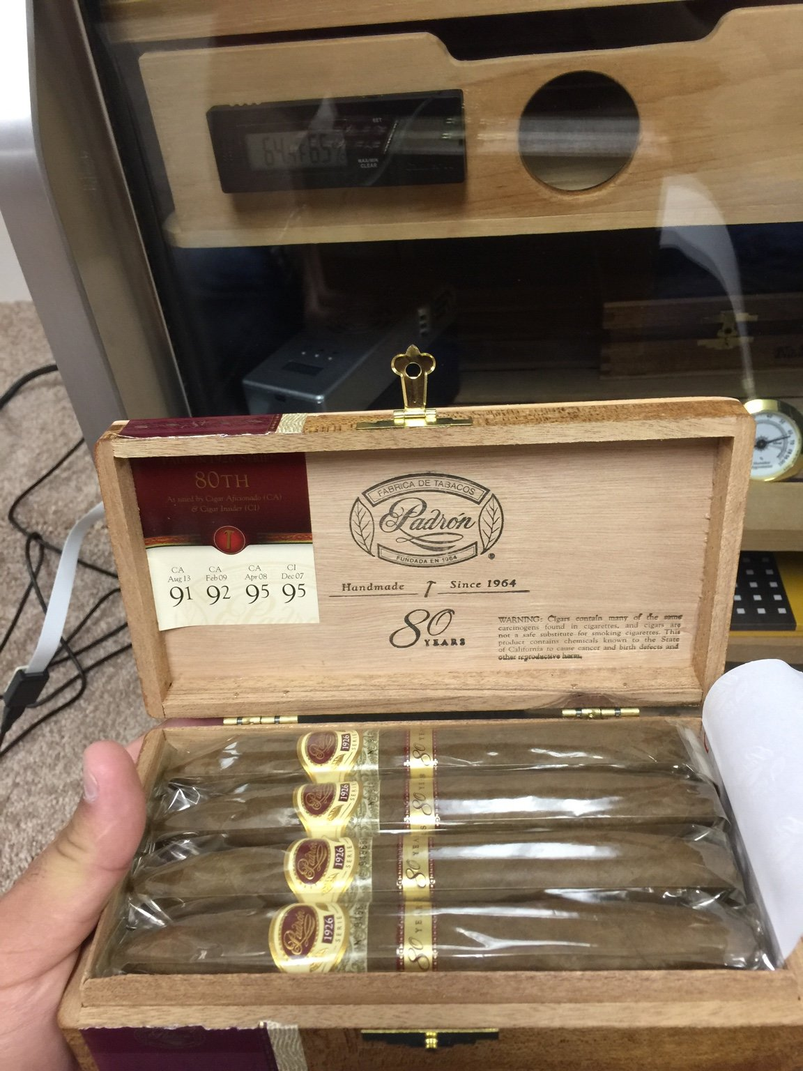 how long do cigars last in plastic wrapper